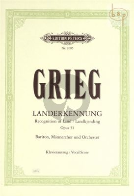 Landerkennung Op.31 (Baritone-Male Choir-Orch.)