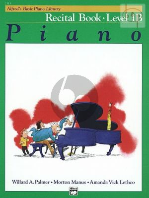 Recital Book Level 1B for Piano