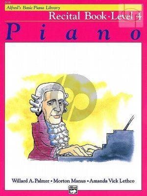 Recital Book Level 4 for Piano