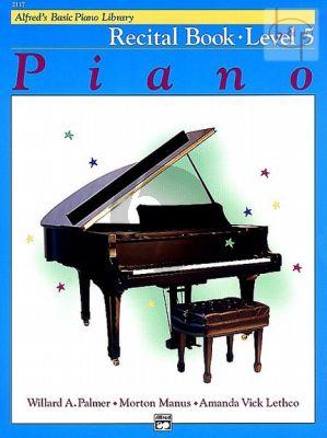 Recital Book Level 5 for Piano