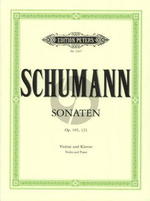 Schumann 2 Sonaten Violine und Klavier (Friedrich Hermann)