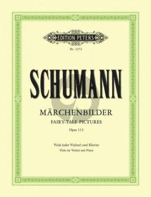 Schumann Märchenbilder Op.113 Violine [Viola]-Klavier (Carl Hermann)