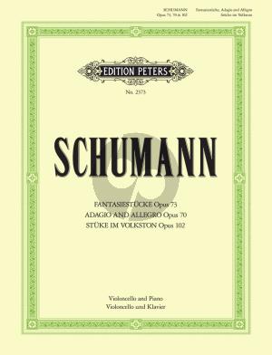 Schumann Kompositionen Op.73 - 70 - 102 Violoncello und Klavier (Friedrich Grützmacher)