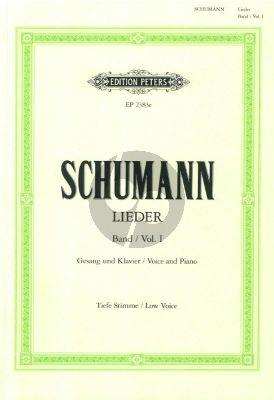 Lieder vol.1 (Tief) (Nach den Handschriften und Erstdrucken)