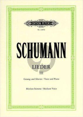 Lieder vol.3 (Mittel-Tief)