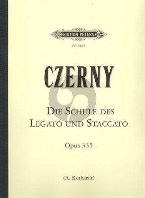 Schule des Legato und Staccato Spiels Op.335 Klavier Adolf Ruthardt