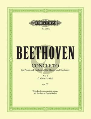Beethoven Concerto No.3 Op.37 C Minor (Reduction 2 Pianos Max Pauer) (with Beethoven's Original Cadenza Peters)