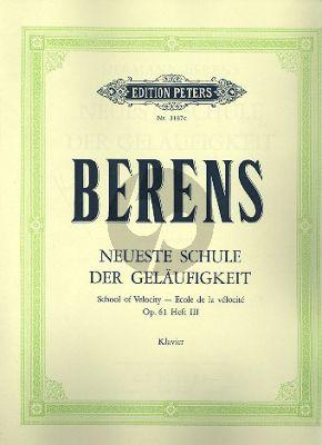 Neueste Schule der Gelauftigkeit Op.61 Vol.3 Klavier