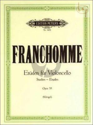 12 Etuden Op.35 Violoncello