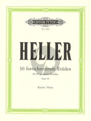 Heller 30 Fortschreitende Etuden Op.46 (Ruthardt) (Peters)