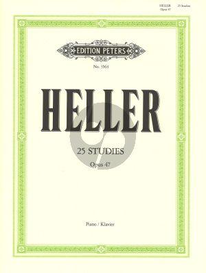 Heller 25 Etuden op.47 Klavier (Ruthardt) (Peters)