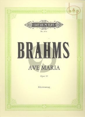 Ave Maria Op.12