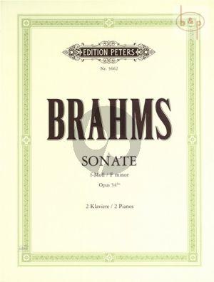 Sonate f-moll op.34 /bis