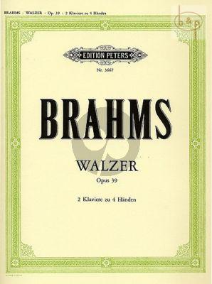 5 Walzer aus Op.39
