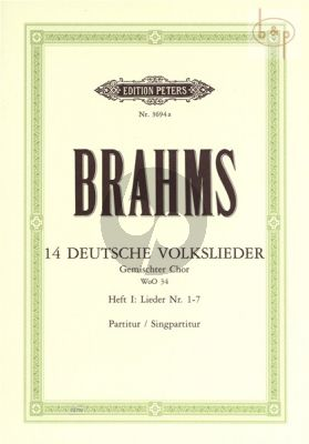 14 Deutsche Volkslieder WoO 34 Vol.1 nr.1 - 7