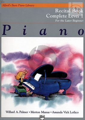 Later Beginner Recital Book Complete Level 1