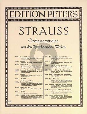 Strauss Orchesterstudien Vol.1 Violoncello (Franz Kvarda) (Peters)