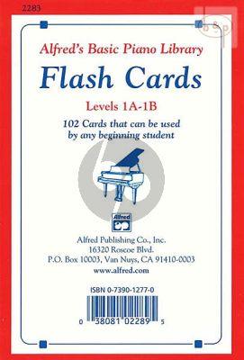 Flash Cards Levels 1A- 1B