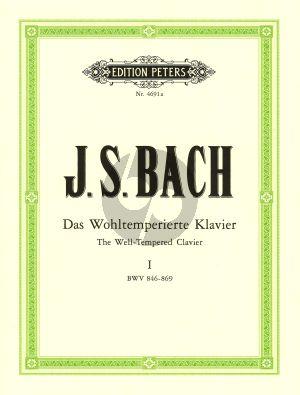 Bach Wohltemperiertes Klavier Vol. 1 BWV 846 - 869