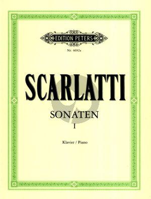 Scarlatti 150 Sonaten Vol.1 Klavier (Keller-Weismann)