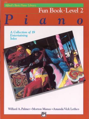 Alfred's Basic Piano Library Fun Book Level 2 Piano