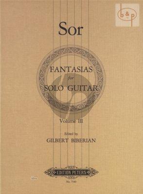 Fantasies Vol. 3 Op. 46 - 52 - 58 - 59 Guitar