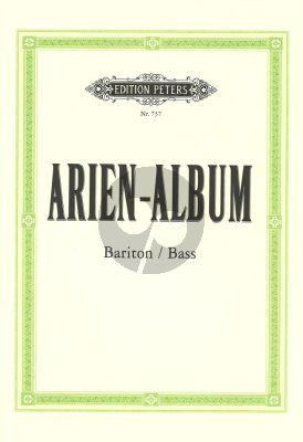 Arien Album (Bariton und Bass) (Dorffel/Soldan) (Beruhmte Arien aus Oratorien und Opern)