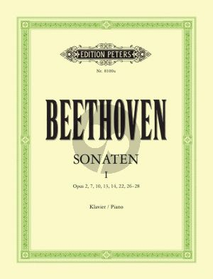 Beethoven Sonaten Vol.1 Piano (edited by Claudio Arrau and L. Hoffmann-Erbrecht)