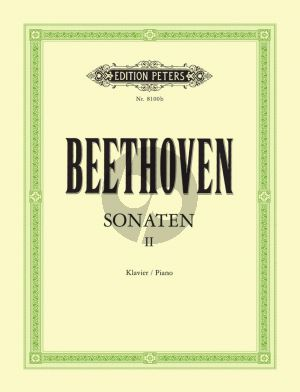 Beethoven Sonaten Vol.2 Piano (edited by Claudio Arrau and Lothar Hoffmann-Erbrecht)