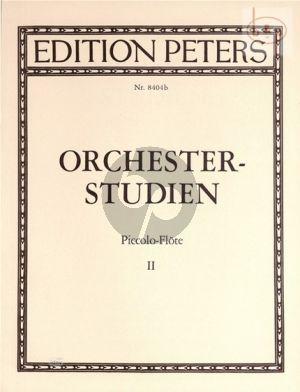 Orchesterstudien Vol.2 Piccoloflöte
