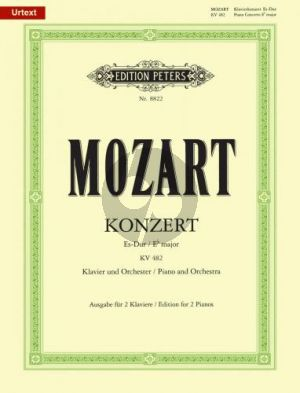 Mozart Konzert Es-dur KV 482 Klavier-Orch. 2 Klaviere
