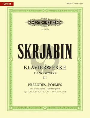 Preludien-Poems & Stucke Klavier