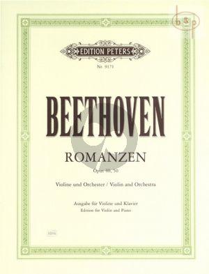 2 Romanzen G-dur Op.40 / F-dur Op.50