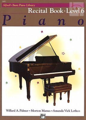 Recital Book Level 6 for Piano