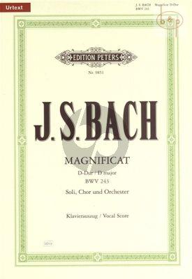 Magnificat D-dur BWV 243 (Zweite Fassung mit 4 weihn.Einlagesatze 1e Fassung)