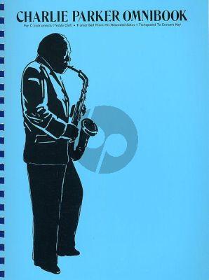 Charlie Parker Omnibook all C Instruments