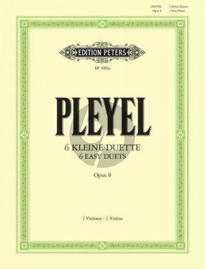 6 kleine Duette Op.8 2 Violinen (Herrmann)