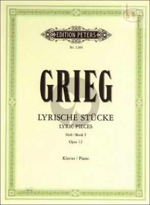 Lyrische Stucke Vol.1 Op.12