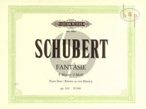 Fantasie f-moll Op.103 D 940 Klavier zu 4 Hd.