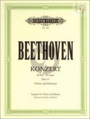 Concerto D-major Op.61