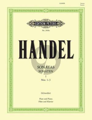 Sonaten Vol.1 No. 1 - 3 Flöte und Klavier