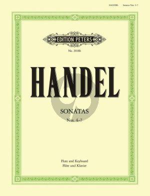 Handel Sonaten Vol.2 No. 4 - 7 Flöte und Klavier (Schwedler)