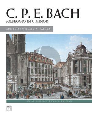 Bach Solfeggio c-minor Piano solo (edited by Willard A Palmer)