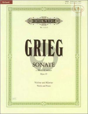 Sonate c-moll Op.45 Violin-Piano