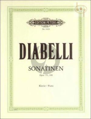 Diabelli Sonatinen Op.151 - 168 Klavier (Adolf Ruthardt)