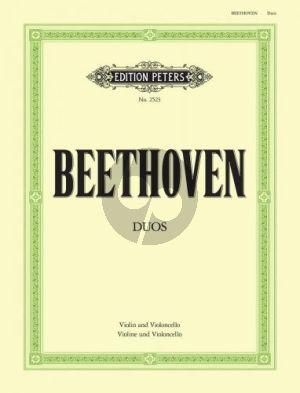 3 Duos Wo O27 Violine-Violoncello