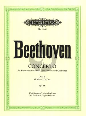 Concerto No.4 Op.58 G-major (Piano-Orchestra) Reduction 2 Pianos