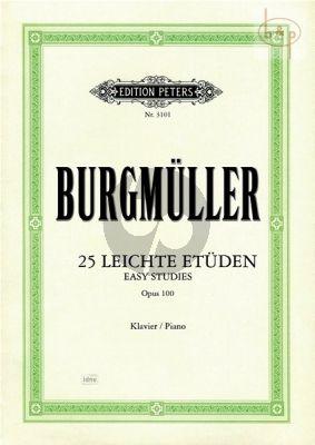 25 Leichte Etuden Op.100 Klavier