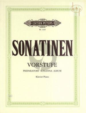 Sonatinen Vorstufe Klavier (Schafer/Ruthardt) (Peters)