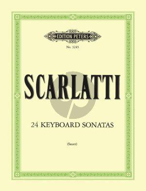Scarlatti 24 Sonaten für Klavier (Emil von Sauer)